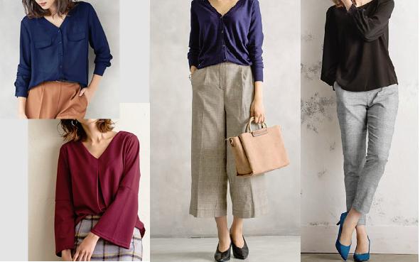 ファッション通販サイトPierrotの40代女性に似合う服