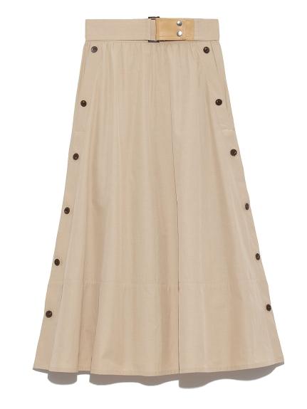 SNIDELのAラインスカート