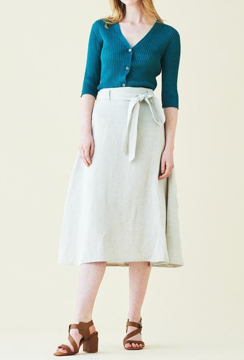 トゥモローランドのカーディガン&スカート