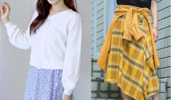 『わたし定時で帰ります』第5話吉高由里子着用白いトップスと黄色いスカート