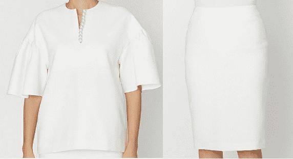 吉高由里子『最愛』着用白いタイトスカート